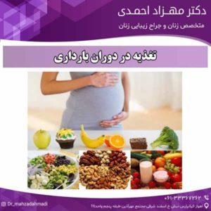 تغذیه در دوران بارداری دکتر مهزاد احمدی